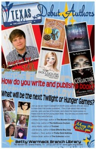 Texas Debut Authors 2013